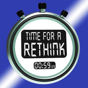 Time For A Rethink Means Change Strategy